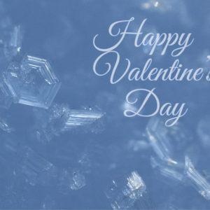 Happy Valentine's Crystal Heart